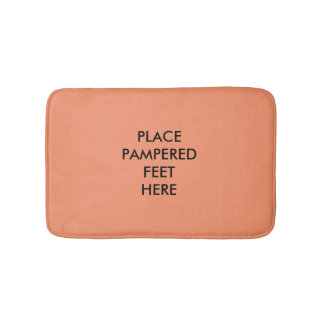 Place Pampered Feet Here Bath Mat