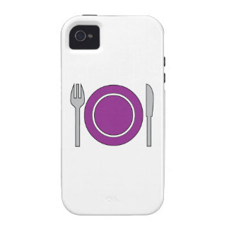 Place Setting Vibe iPhone 4 Cover