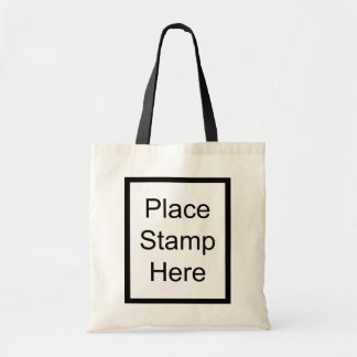 Place Stamp Here Budget Tote Bag