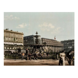 Place Tourny and fountain, Bordeaux, France classi Postcard