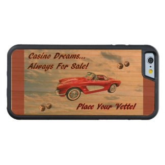 """""""Place Your 'Vette!"""" Carved® Cherry iPhone 6 Bumper Case"""