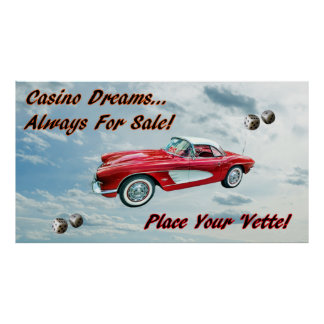 """""""Place Your 'Vette! Poster"""