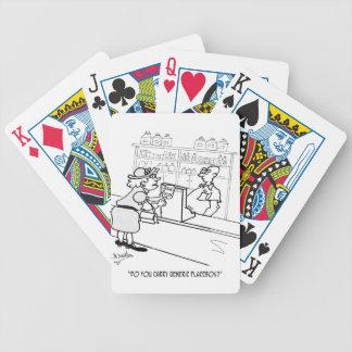 Placebo Cartoon 2861 Poker Deck