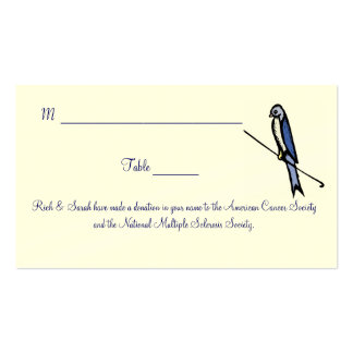 Placecards Business Card Templates