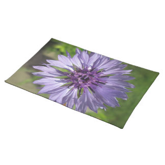 Placemat - Lilac/Purple Bachelor's Button
