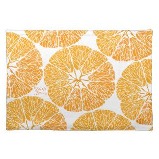 Placemat - Orange you glad . . .