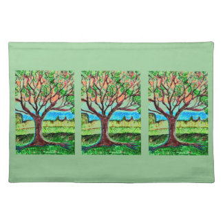 """Placemats 20"""" x 14"""" with Tree Art"""