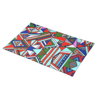 Placemats Colorful Pattern