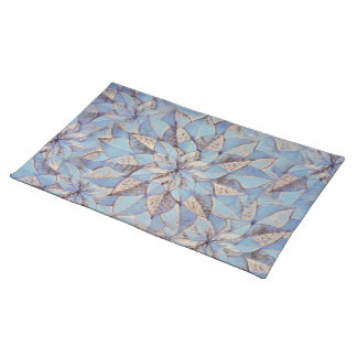 Placemats Floral Abstract Painting