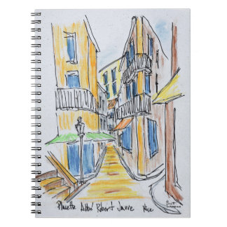 Placette Abbe Robert Jarred | Old Nice, France Notebook