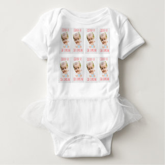 Plagiocephaly Awareness Tutu Baby Bodysuit