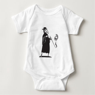 Plague Doctor Baby Bodysuit