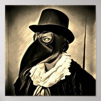 Plague Doctor Poster