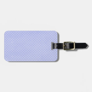 plaid32 LIGHT BLUE WHITE PLAID PATTERN TEMPLATE DI Tags For Luggage