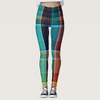 Plaid 17 leggings