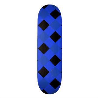 Plaid 1 Blue Skateboard Deck
