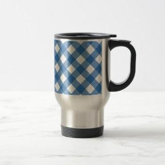 Plaid 1 Dazzling Blue Mug