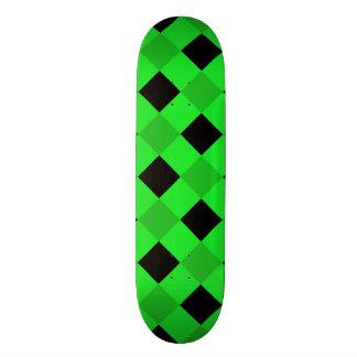 Plaid 1 Green Skate Boards