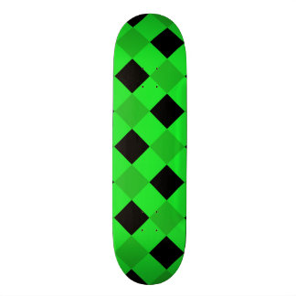 Plaid 1 Green Skate Boards