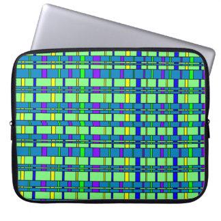 Plaid 2 laptop sleeve