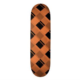 Plaid 3 Celosia Orange Skate Board Decks