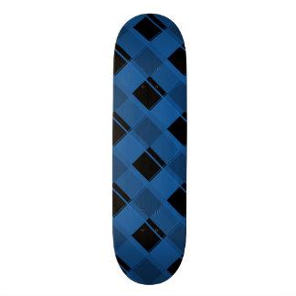 Plaid 3 Dazzling Blue 21.6 Cm Old School Skateboard Deck