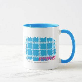 Plaid Aqua 4 Mug