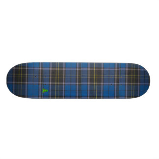 Plaid, Blue Skateboard Deck