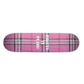 Plaid Board! Skateboard