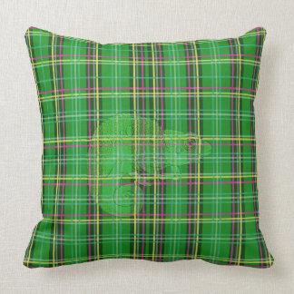Plaid Chameleon Cushion