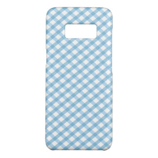 Plaid  / Checkered Blue Case-Mate Samsung Galaxy S8 Case