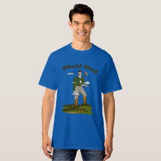 Plaid Dad T-Shirt