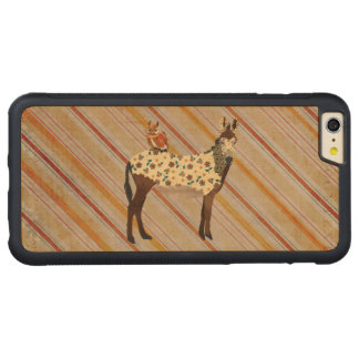 Plaid Donkey & Owl Carved iPhone Case Carved® Maple iPhone 6 Plus Bumper