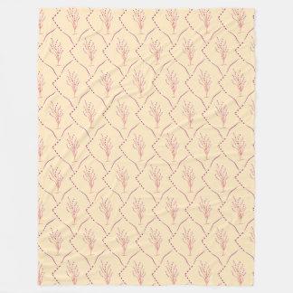 plaid double-sided fleece blanket