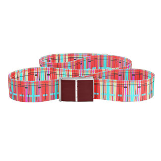Plaid Etc. Belt