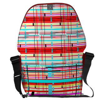Plaid Etc. Courier Bags