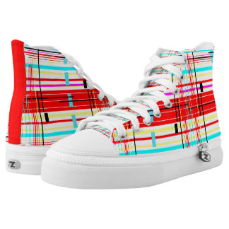Plaid Etc. High Tops
