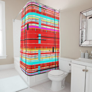 Plaid Etc. Shower Curtain