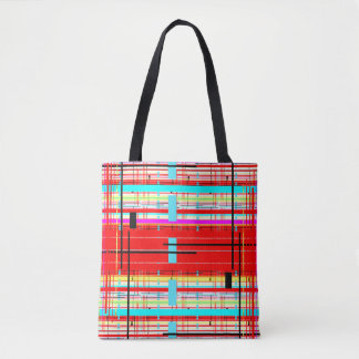 Plaid Etc. Tote Bag