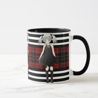 Plaid, Goth & Girly Mug