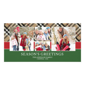 PLAID GREETINGS | HOLIDAY PHOTO CARD