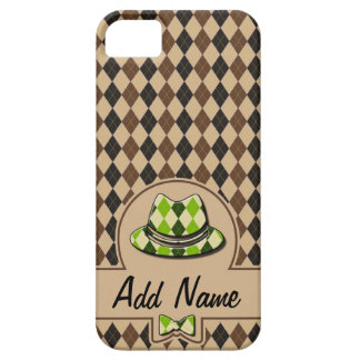 Plaid Hipster customizable iPhone 5 Cover