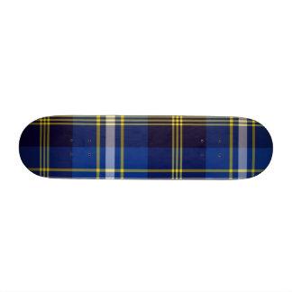 """Plaid Is Rad! - 7 3/8"""" Skateboard"""
