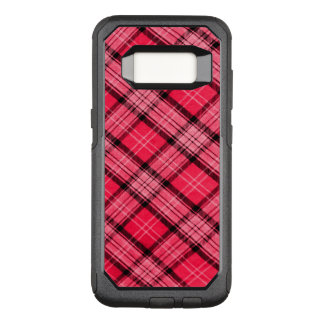 Plaid It Pink OtterBox Commuter Samsung Galaxy S8 Case