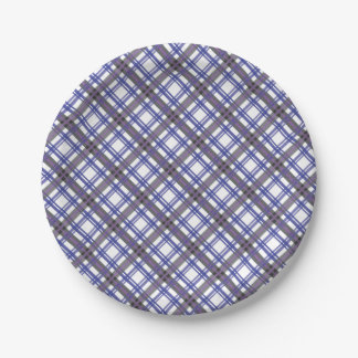 Plaid Jumper Party Plate