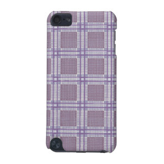 Plaid lavender, plum and purple iPod touch 5G covers