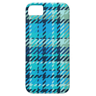 Plaid - Light Blue iPhone 5 Case