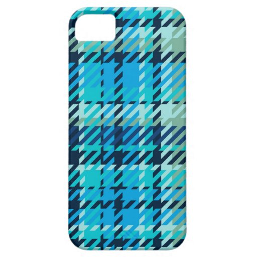 Plaid - Light Blue Case For iPhone 5/5S