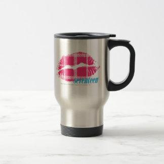 Plaid Magenta Mug