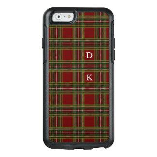 Plaid Monogram OtterBox iPhone 6/6s Case